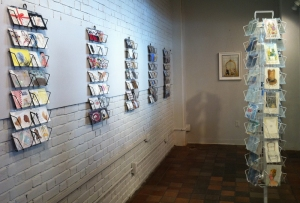 The Postcard Project on display